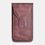 New              Men Faux Leather Mobile Phone Bag Waist Bag Belt Bag For Outdoor