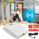 New              1800MHz GSM Signal Booster International LTE 4G WiFi Router Signal Amplifier Repeater for Cell Phone Wireless Wifi Signal Amplification Router