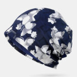New              Butterfly Beanie Hat Printing Chemotherapy Cap Turban Cap