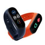 New              [Blood Oxygen Monitor]Original Xiaomi Mi band 5 AMOLED Wristband AI Voice Assistant Fitness Tracker Smart Watch Global Version