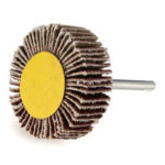 New              10pcs 30mm Sanding Sandpaper 80 Grit Flap Wheel for Rotary Tool