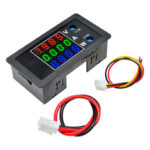 New              DC 0-100V 0-10A 1000W 0.28″ LED Digital Voltmeter Ammeter Wattmeter Red Green Blue Voltage Current Tester Power Meter Monitor