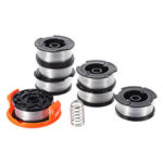 New              7+2 30ft Trimmer Line Replacement String Trimmer Spool Cap Cover Spring For Black and Decker String Trimmers