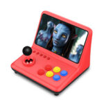 New              M13 9 inch 16G 32G 64G Up to 10000+ Games HD Retro Arcade Game Console PS1 GBA GB MD SFC MAME NEOGEO 3D Rocker Joystic TV Game Player