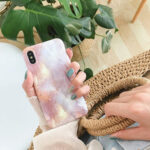 New              Fashion Ins Marble Pattern TPU Protective Case Back Cover for iPhone X / XS / XR / XS Max / 6 / 7 / 8 / 6S Plus / 6 Plus / 7 Plus / 8 Plus
