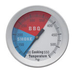 New              100-550℉ Temperature Thermometer Gauge Barbecue BBQ Grill Smoker Pit Thermostat