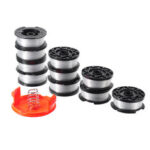 New              10+2 30ft Trimmer Line Replacement String Trimmer Spool Cap Cover Spring For Black and Decker String Trimmers