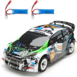 New              Wltoys K989 with 2 Batteries 1/28 2.4G 4WD Brushed RC Car Alloy Chassis Vehicles RTR Model