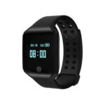 New              Bakeey Z66 Heart Rate Blood Pressure Monitor Long Standby Call Message Reminder Smart Watch