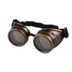 New              Steampunk Goggles 2020 New fashion Arrival Vintage Round Mirror Style Welding Punk Glass Cosplay Wholesale Eyewear