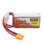 New              ZOP Power 11.1V 1300mAh 100C 3S Lipo Battery XT60 Plug for RC Racing Drone