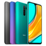 New              Xiaomi Redmi 9 Global Version NFC 6.53 inch Quad Rear Camera 3GB RAM 32GB ROM 5020mAh Helio G80 Octa core 4G Smartphone