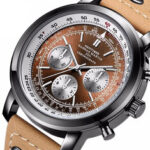 New              HANNAH MARTIN 2011 Chronograph Military Style Men Wrist Watch Leather Band Quartz Watch
