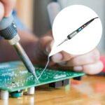 New              60W Electric Soldering Iron Pen Temperature Adjustable Welding Soldering Iron