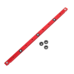 New              Red 300-880mm Aluminum Alloy Rail Miter Bar Slider Sliding Bar Table Saw Gauge Rod Miter Gauge for T-slot T-track Miter Track Jig Fixture Slot Router Table Woodworking Tool