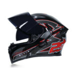 New              JIEKAI ABS Crashworthiness Protection Full Face Double Lens Men And Women Motorcycle Scooter Helmet