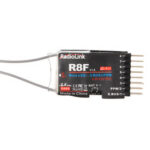 New              Radiolink R8F 2.4G 8CH Dual Antenna Receiver with Two Way Transmission for RC Car Boat Models