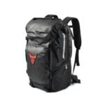 New              MOTOCENTRIC Travel Motorcycle Seat Tail Bag-Dual Use Motorcycle Backpack Waterproof PU Luggage Motorbike Helmet Storage Bags