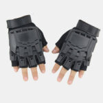 New              Outdoor Tactical Gloves Motorcycle Riding Sports Mountaineering Half-finger Gloves Male Field Fitness Bike Gloves
