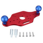 New              Aluminum Alloy Universal Router Base Plate Sub Base Timmer Router Fixed Base for Makita RT0700C WORX