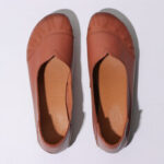 New              Women Solid Color V Shape Casual Comfy Soft Sole Slip On Loafers