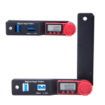New              180mm 0-200° Multifunction LCD Display Digital Angle Finder Level Tool Angle Ruler Inclinometer Electron Goniometer Protractor Meter Measuring Tool