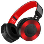 New              Wireless Headphone bluetooth Headset HiFi Stereo FM Radio TF Card 3.5mm Aux Foldable Gaming Headphone with Mic