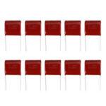 New              10pcs 630V475 4.7UF Pitch 25MM 630V 475 CBB Polypropylene Film Capacitor