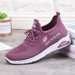 New              Women Letter Parttern Fabric Breathable Wearable Sports Casual Sneakers