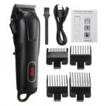New              USB Rechargeable Electric Hair Clipper Shaver Trimmer LED Portable Hair Cutting Haircut Machine
