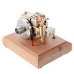 New              Eachine ET5 Mini Engine Stirling Engine Model Water-cooled Cooling Structure