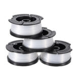 New              4Pcs AF100 Trimmer Line 30ft Replacement String Trimmer Spool Cap Cover Spring For Black and Decker String Trimmers