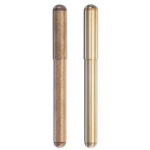 New              Vintage Brass Fountain Pen Golden Calligraphy Writing Signing Pen Business Gift Office School Supplies Stationery