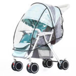 New              Baby Stroller Universal Rain Cover Sunproof Tool Skylight Shade Waterproof Cover for Kids Cart Protection