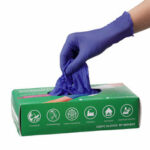 New              100PC Disposable Gloves Nitrile Safety Outdoor Gloves Latex Kitchen Waterproof Gloves