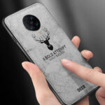 New              Bakeey for Xiaomi Poco F2 Pro Case Deer Classic Breathable Canvas Cloth Shockproof Protective Case Back Cover