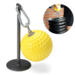 New              97mm Ball Iron Sheet Holder Barbell Disk Loading Rack Weight Lifting Bracket Home Fitness Muscle Exercise Tools
