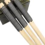 New              3pcs Wood File Metal Rasp Coarse Teeeth 200/220mm Hand Rasp For Hardwood Polishing Carpenter Woodworking Tools