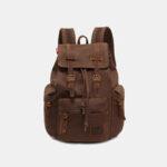 New              Men Vinatge Canvas Anti-theft Backpack Student Bag Travel Bag