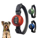 New              3-Modes Pet Dog Bark Control Electric Collar With LED Light Waterproof USB Rechargeable Dog Training Collars