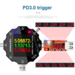 New              MUSTOOL UD18 USB3.0/DC/Type-C 18 in 1 USB Tester bluetooth APP + PD3.0 Trigger