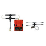 New              FrSky R9M 2019 900MHz Long Range Transmitter Module and R9 Slim+ OTA ACCESS RC Receiver with Mounted Super 8 and T antenna