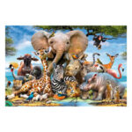 New              1000 Pieces Jigsaw Puzzle Toy Animals Plants Decompression Jigsaw Puzzle for Adults Kids Educational Toys