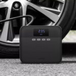 New              70 Mai 12V Portable Car Tire Inflator Digital Display Air Pump Compressor Black Youth Version from Xiaomi Youpin