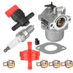 New              Carburetor With Fuel Filter For Briggs Stratton Walbro LMT 5-4993 734463213805DN