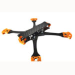New              100mhz 5 Inch 210mm Wheelbase 4mm Arm Freestyle Frame Kit 20x20mm / 30.5×30.5mm 90g for RC Drone FPV Racing