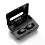 New              Bakeey H60 Dual Dynamic bluetooth 5.0 TWS Earphone LED Digital Display Stereo Bass Sports Earbuds with Charging Case