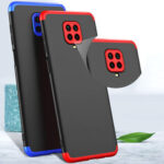 New              Bakeey 3 in 1 Double Dip 360° Hard PC Full Protective Case For Xiaomi Redmi Note 9S / Xiaomi Redmi Note 9 Pro / Xiaomi Redmi Note 9 Pro Max