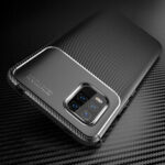 New              Bakeey for Xiaomi Mi 10 Lite Case Luxury Carbon Fiber Pattern Shockproof Silicone Protective Case Back Cover