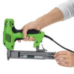 New              220V Electric Brad Nail U Type Staple Dual-Use Staple Woodworking Tools-Green
